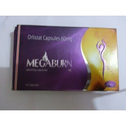 Megaburn Fat Binder Tablets 60mg